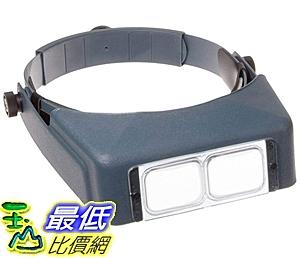 [7美國直購] 頭戴放大鏡 Donegan OptiVISOR LX Binocular Magnifier-Lenspl ate #4 Magnifies 2X At 10吋