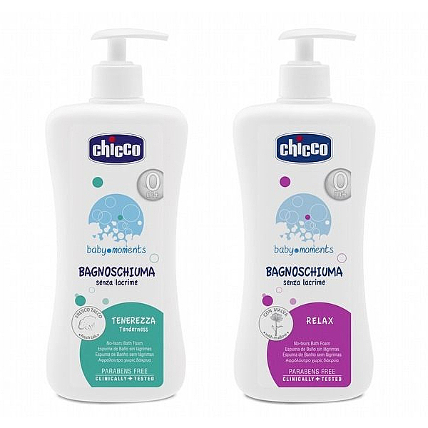 Chicco 寶貝嬰兒潤膚泡泡浴露-溫和不流淚配方500ml /洗澡泡泡露