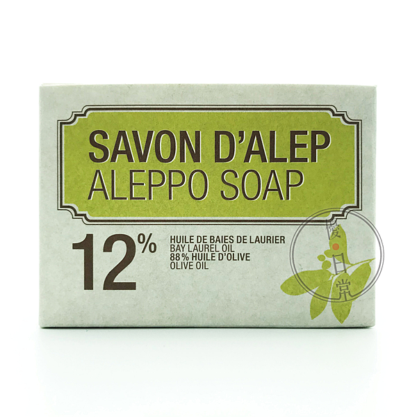 NAJEL 月桂油12%阿勒坡手工古皂(200g)【優.日常】
