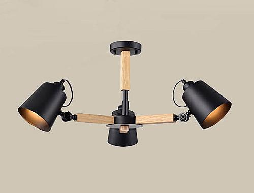 燈飾燈具【燈王的店】風格系列 木製品 半吸頂 3 燈 ☆ F0363300534