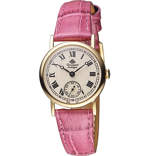 Rosemont 戀舊系列 經典復刻時尚腕錶 TN008 YWR-EMG