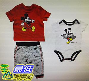 卡通圖案嬰兒服飾三件組 W1282976 [COSCO代購]