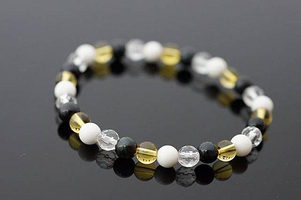 【喨喨飾品】能量水晶寶石手鍊 A9