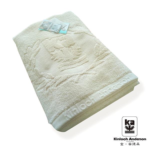 Kinloch Anderson金安德森 有機棉浴巾-台灣製造