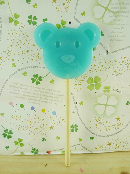 【震撼精品百貨】泰迪熊_Teddy Bear~造型鏡-藍色