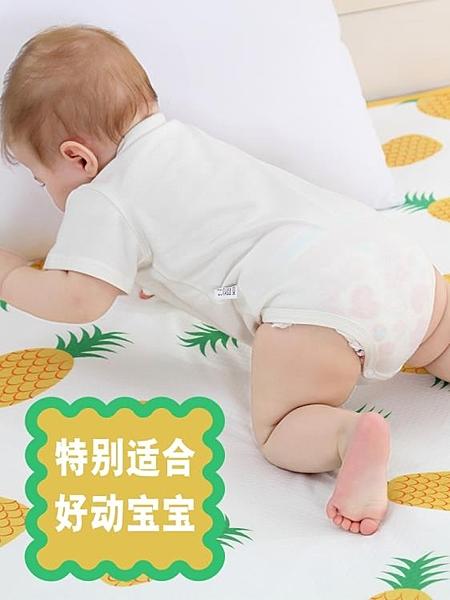 嬰兒隔尿墊超大號防水可洗透氣兒童寶寶防漏床單床笠 露露日記