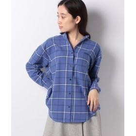 【20%OFF】 テチチ Lugnoncure 21ネルチェックシャツ LS レディース パープル F 【Te chichi】 【セール開催中】