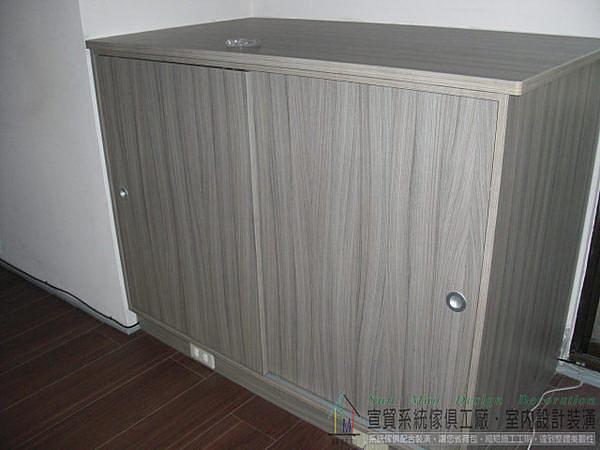 台中系統家具設計/台中系統傢俱/台中系統櫃/系統櫥櫃/室內空間設計/木工裝潢/系統矮置物櫃sm0633