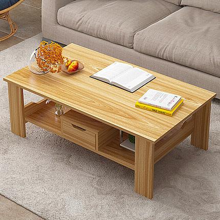 茶几歐式小茶几簡約桌客廳長方形矮桌小戶型茶桌沙發邊幾邊收納櫃角幾WY