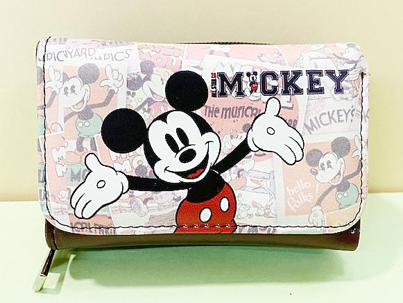 【震撼精品百貨】Micky Mouse_米奇/米妮 ~三折短夾-米奇*79000