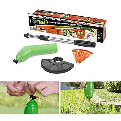 割草機 現貨 TV新品手持電動無繩迷你割草器草坪花園修剪機塑膠便攜 現貨速發igo