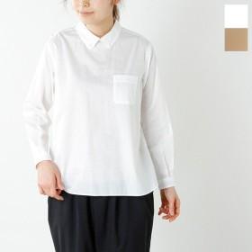 PULETTE プレット コットンプルオーバーボタンダウンシャツ pl-sh0571 レディース