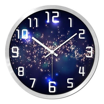 摩門鐘錶掛鐘客廳創意現代時鐘石英鐘錶掛錶臥室靜音個性大號壁鐘