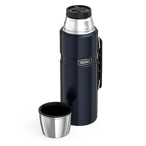 THERMOS【日本代購】不銹鋼保溫瓶2L SK2020-二色