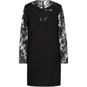 《セール開催中》GIVENCHY レディース ミニワンピース&ドレス ブラック 40 ウール 100% / コットン / ナイロン