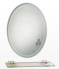 【麗室衛浴】化妝鏡 LS-732 晶雕噴砂明鏡  防霧 500*700mm