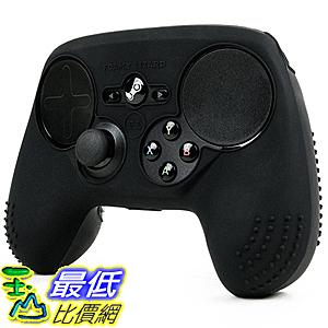 [美國直購] Foamy Lizard FL-STM-SKIN-BLACK 搖桿 保護套 ParticleGrip STUDDED Skin for Steam Controller
