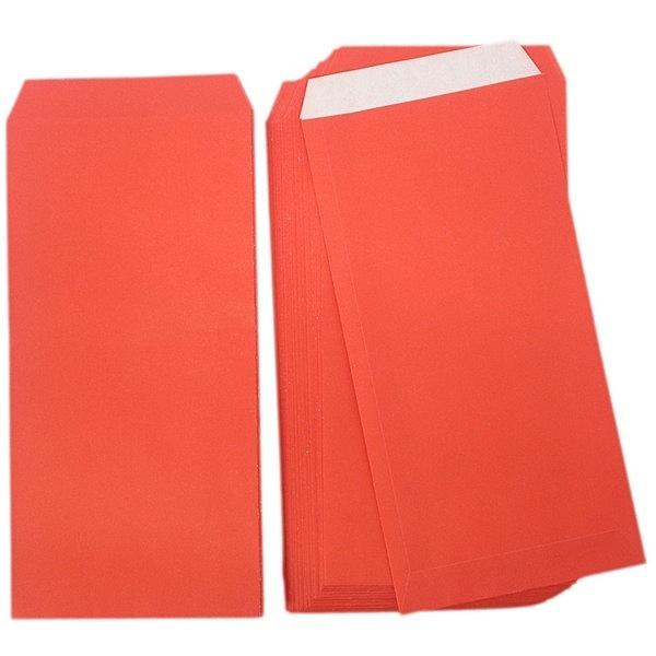 紅包袋 模造紅紙 新冠 標準型 紅禮袋/一大包10小包入(一小包50張)共500張入(定25)