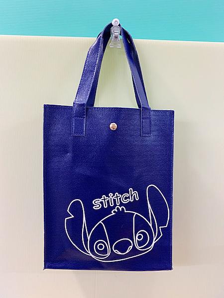 【震撼精品百貨】Stitch_星際寶貝史迪奇~史蒂奇直式手提袋/收納包-藍#11300