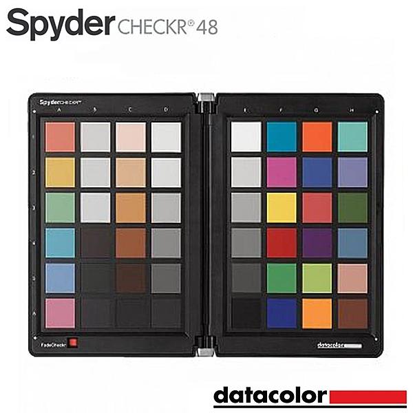 黑熊館 Datacolor Spyder Checkr 48 智慧色彩調整工具 白平衡 螢幕校色 色彩校準 48色
