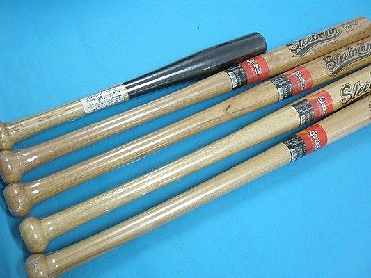 木材棒球棒 鐵人棒球棒 一般棒球棍30inch(76cm)MIT製/一支入{定250}