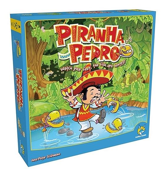『高雄龐奇桌遊』 食人魚與派德羅 Piranha Pedro 繁體中文版 正版桌上遊戲專賣店