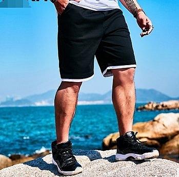 FINDSENSE H1 2018 夏季 新款 潮胖子 簡潔白邊 加肥 加大碼