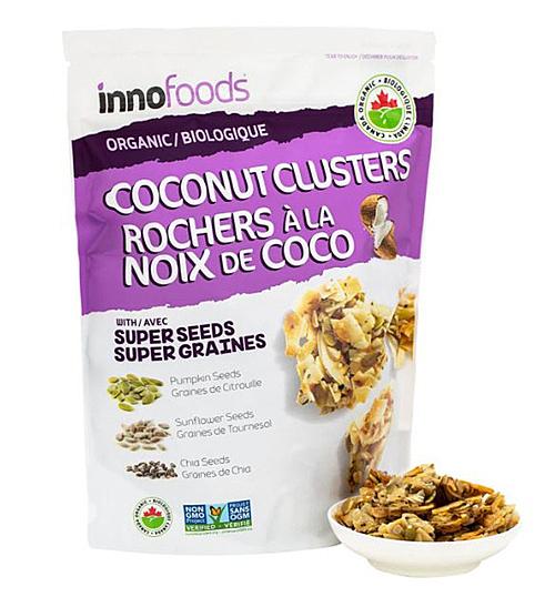Inno Specialty Foods 有機南瓜奇亞籽椰子脆塊 500 公克