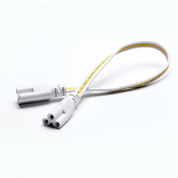 【AI342】燈管連結線100CM 燈管延長線 串接連結線T5 T8三插連接頭 EZGO商城