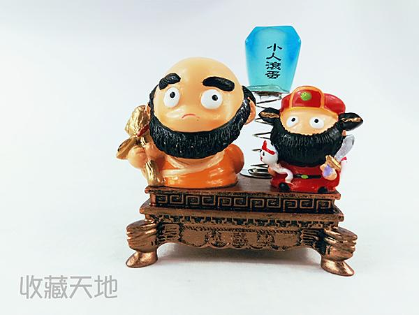 【收藏天地】台灣紀念品*神明守護擺飾-達摩 閻羅王/禮品 小物 開運 保佑