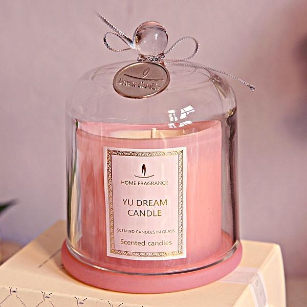 杯裝香薰蠟燭 禮盒香氛蠟燭浪漫進口精油蠟燭香薰玻璃杯