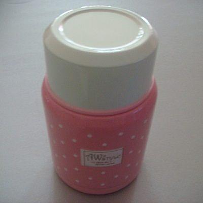 AWANA真空斷熱悶燒罐(350ml-粉紅色)/保溫保冷瓶