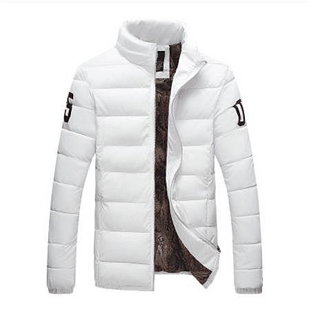 [超豐國際]冬季棉衣男士外套青年加厚款立領短款棉襖學生保暖棉1入