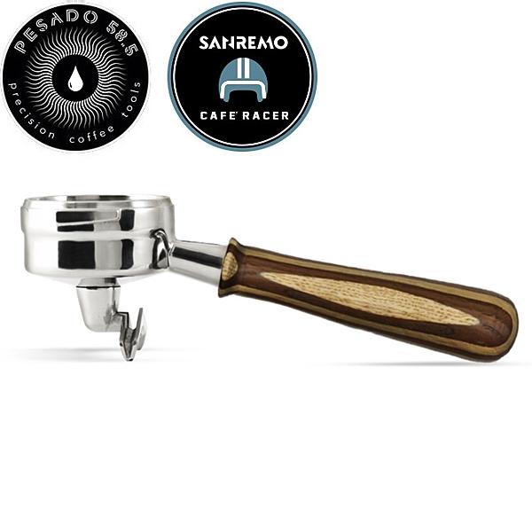 金時代書香咖啡 PESADO 雙嘴沖煮把手 ( 拉亞木 ) PE02LMRaya E61 HG2485