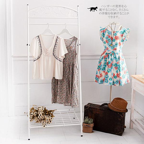 免組裝【澄境】日系可收合貓咪衣架 曬衣架 衣櫃 收納架 衣帽架 衣櫥 掛衣架 CL009