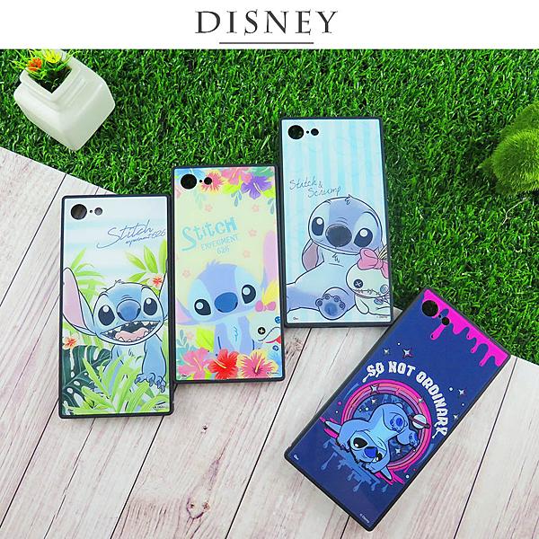Disney迪士尼iPhone 7/8史迪奇方型殼 史迪奇手機殼