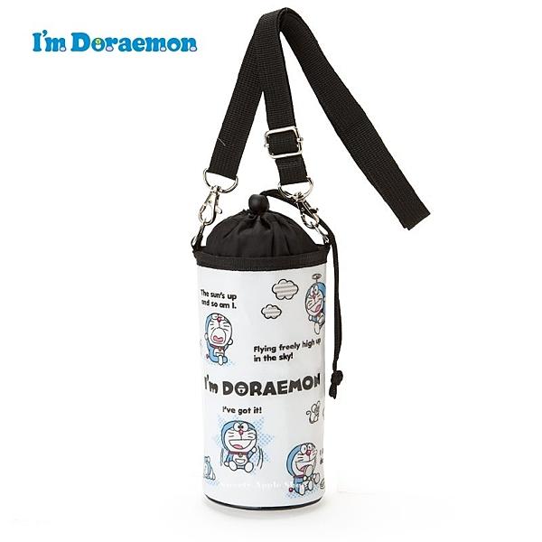 日本限定 DORAEMON 哆啦a夢 多way表情版 束口保冷袋 / 水瓶袋 / 水壺袋 (附背帶)