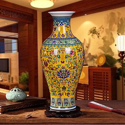 景德鎮瓷器皇室花瓶擺件 裝飾檯面