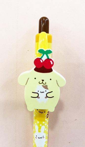 【震撼精品百貨】Pom Pom Purin 布丁狗~Sanrio 布丁狗原子筆-造型抱抱#03049