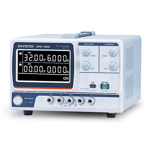 TECPEL泰菱電子》固緯 GWInstek GPE-1326 多通道直流電源供應器1CH 0 ~ 32V/ 0~6A