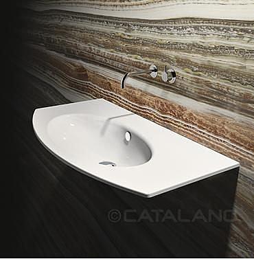 【麗室衛浴】義大利 CATALANO Velis  系列 一體盆  110VL00  100*51CM