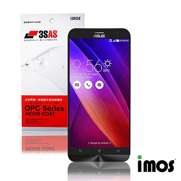 iMos 3SAS ASUS Zenfone2(5吋)超疏水疏油效果保護貼
