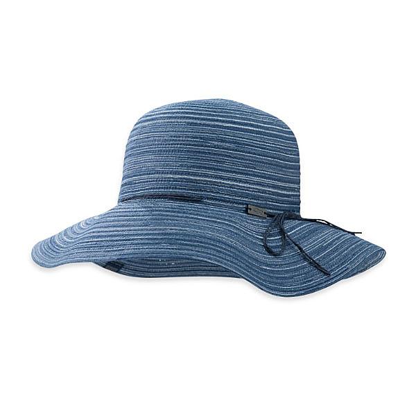 [OUTDOOR RESEARCH] Isla Hat編織休閒圓盤帽 - 靛青、麥梗(女款) (OR243393)