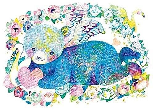 熊與天鵝(作者:佐藤玲奈) /300P/AppleOne/繪畫/日本進口拼圖