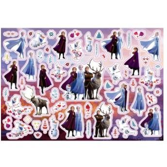シール シート アナと雪の女王2 台紙3枚付き シール 遊び ディズニー インロック コレクション雑貨