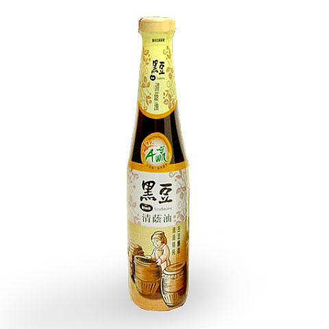 【台灣尚讚愛購購】下營區農會-黑豆清蔭油420cc