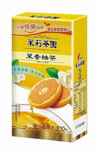 光泉茉莉茶園-茉莉柚茶300ml(24入/箱)【合迷雅好物超級商城】