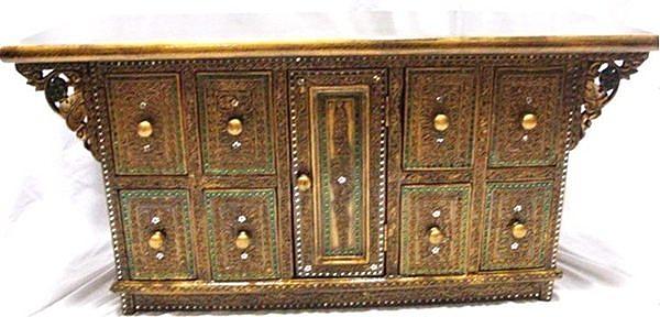 木雕 小傢俱 櫃子 電視櫃