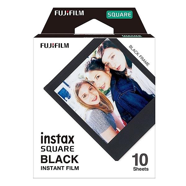 FUJIFILM instax SQUARE 黑邊 SQ方形底片 (1盒裝)