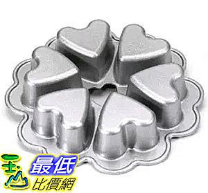 [美國直購] Nordic Ware 55048 迷你愛心蛋糕模具 烤盤 Seasonal Collection Conversational Heart Pan